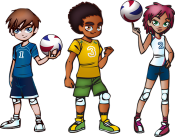 volley-jeunestrio-postures300